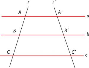 Segmento matemático